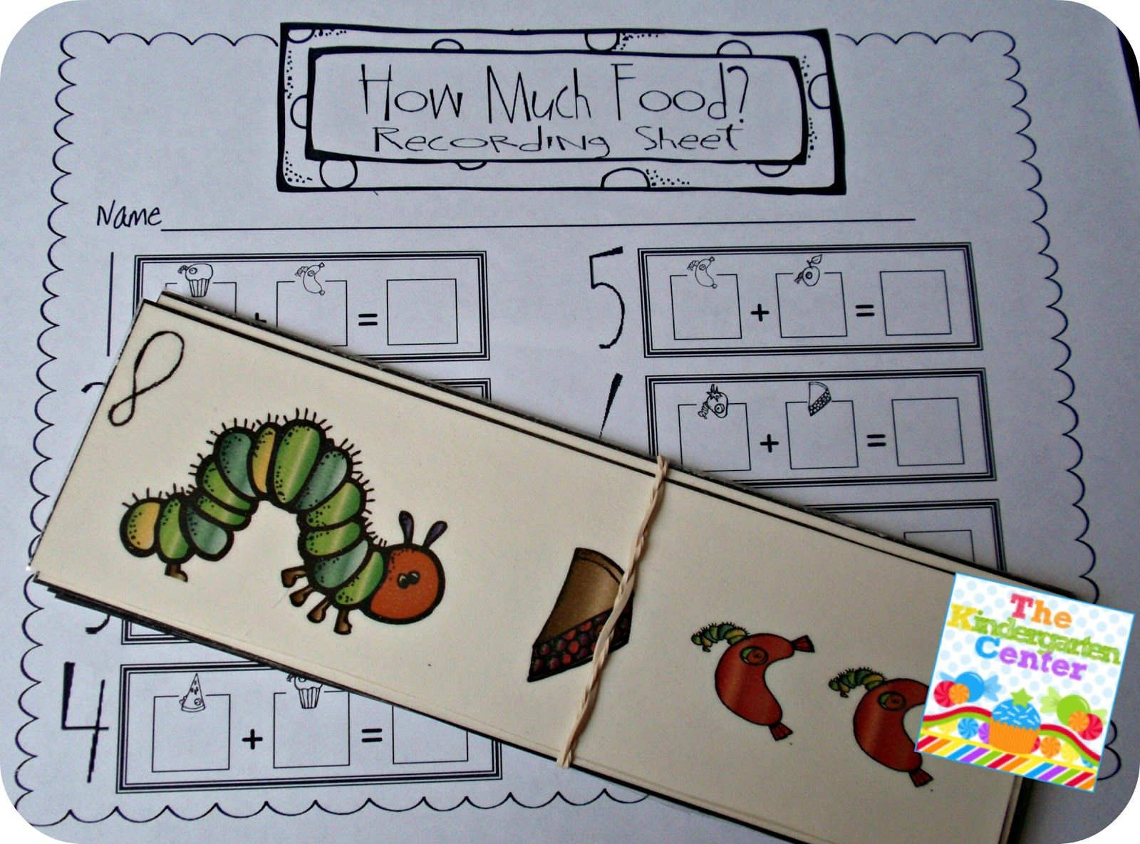 The Kindergarten Center Free The Very Hungry Caterpillar