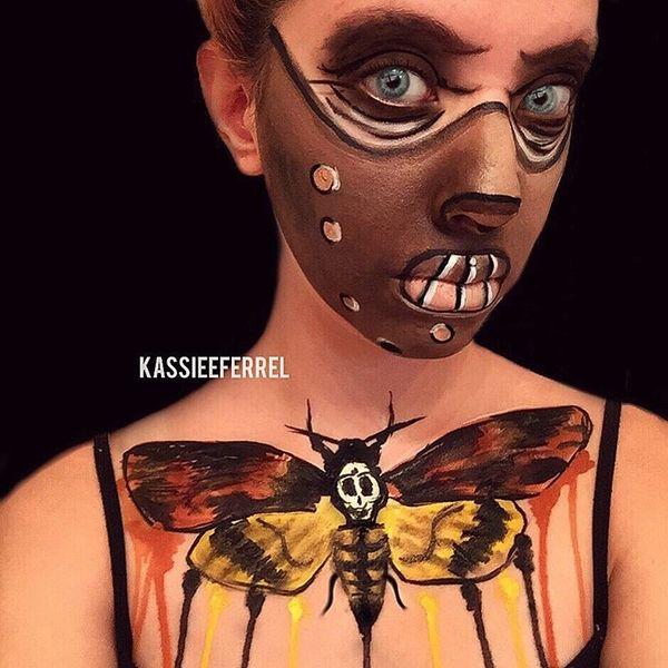 Halloween Make Up von Kassandra Ferrel