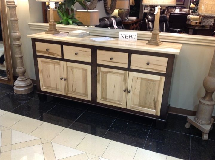 Dual Tones Are Everywhere This Season, What Better Way To Bring It Into  Your Home Than With This Wormy Maple Sideboard?! | Houston, TX | Gallery  Furniture |