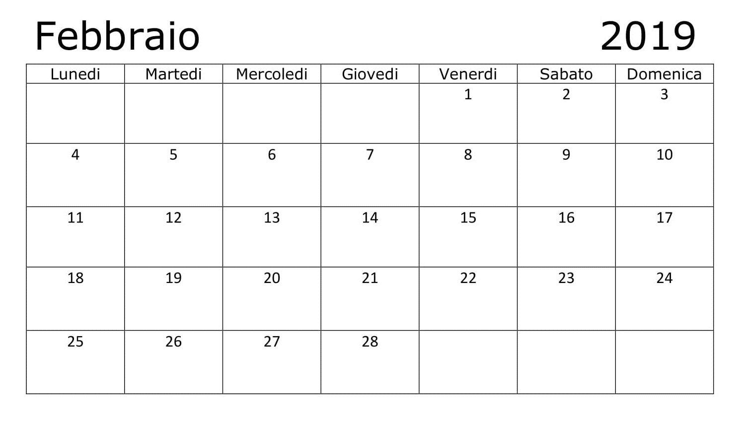 Febbraio 2019 Calendario Computer keyboard, Periodic table