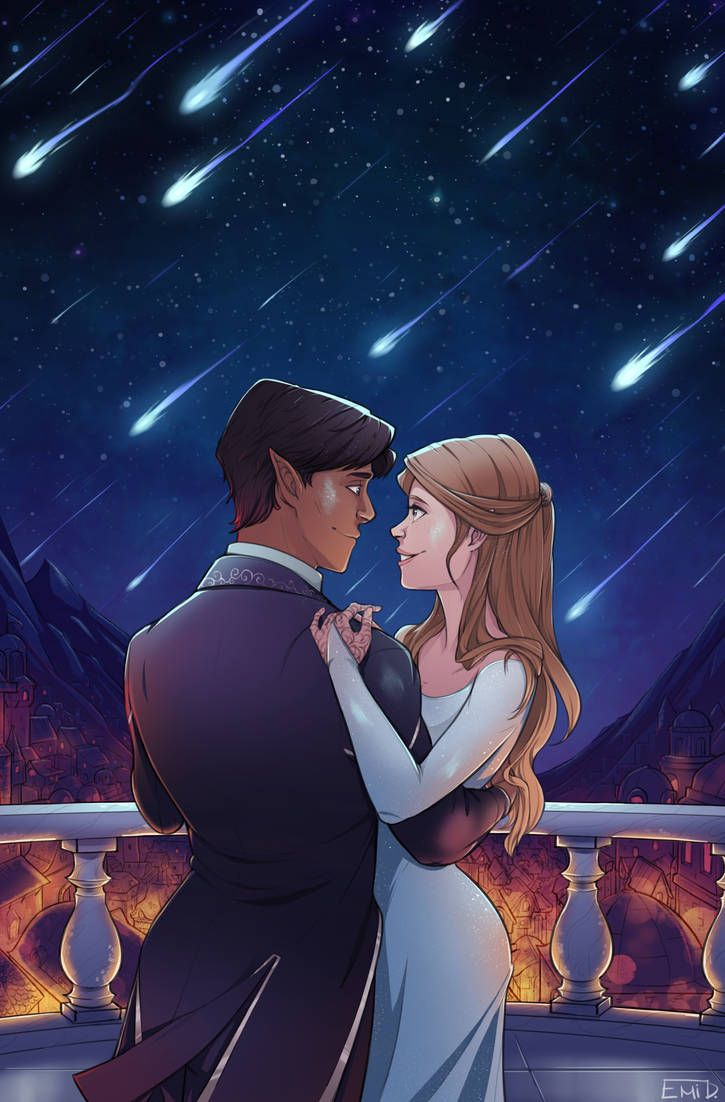 The Starfall By Tokio92 On Deviantart A Court Of Thornes And