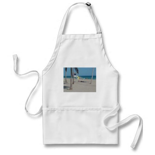 Ft Lauderdale Beach Lifeguard Stand Apron - 30% Off Aprons  Use Code at Checkout: APRONFORPAPA  Offer expires 6/11/13