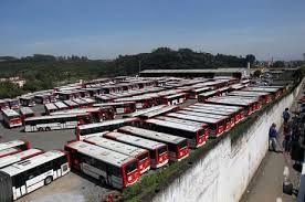 Resultado de imagem para garagens de empresas de ônibus
