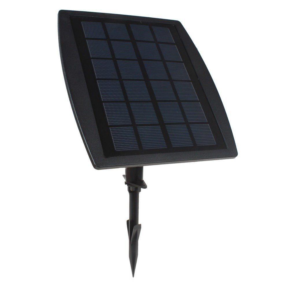 Hot Sale Bsv Sl318c 3 X 6 Rgb Color Leds Solar Powered Adjustable Super Bright Lamps 1 X Solar Panel For Garde Solar Panels Bright Lamp Solar Panels For Home