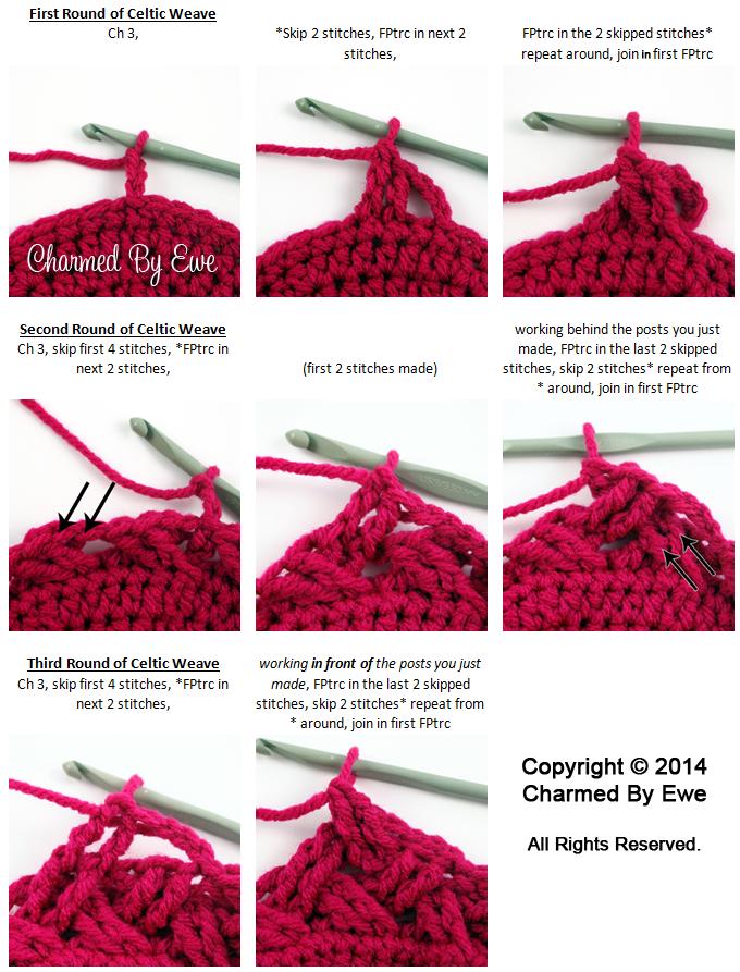 De Celtic Weefsteek tutorial en filmpje | Crochet | Pinterest ...