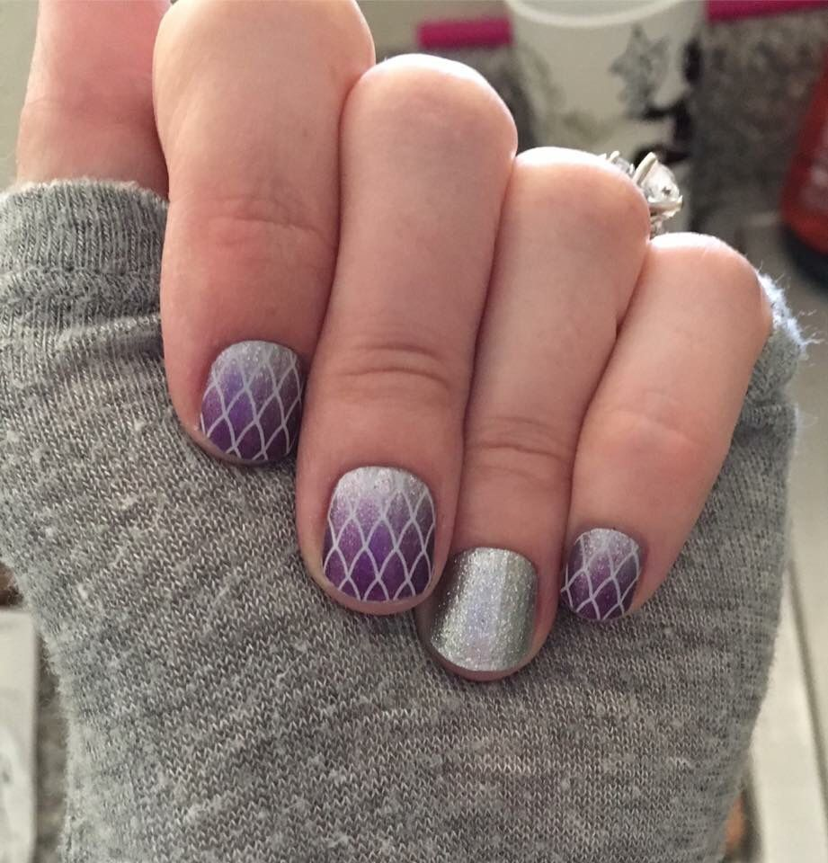 Damsel in Distress and Diamond Dust Sparkle Jamberry nail wraps ...
