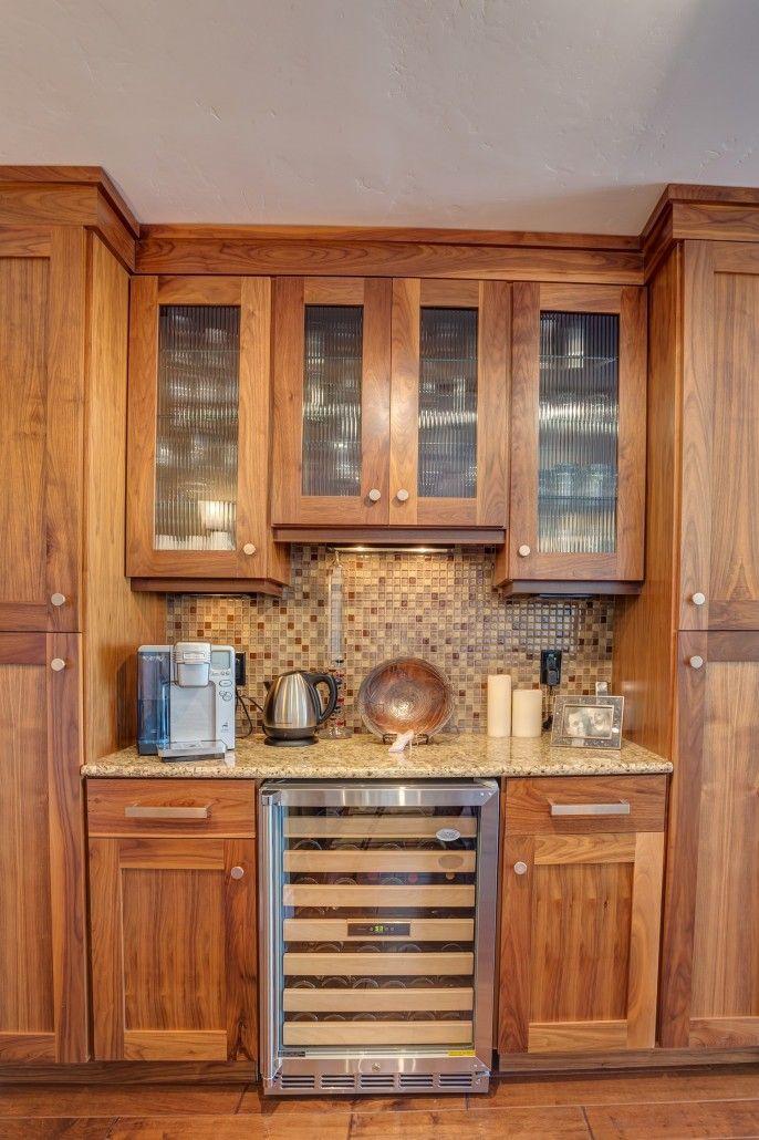 butlers pantry in penthouse custom builtdavinci homes | davinci