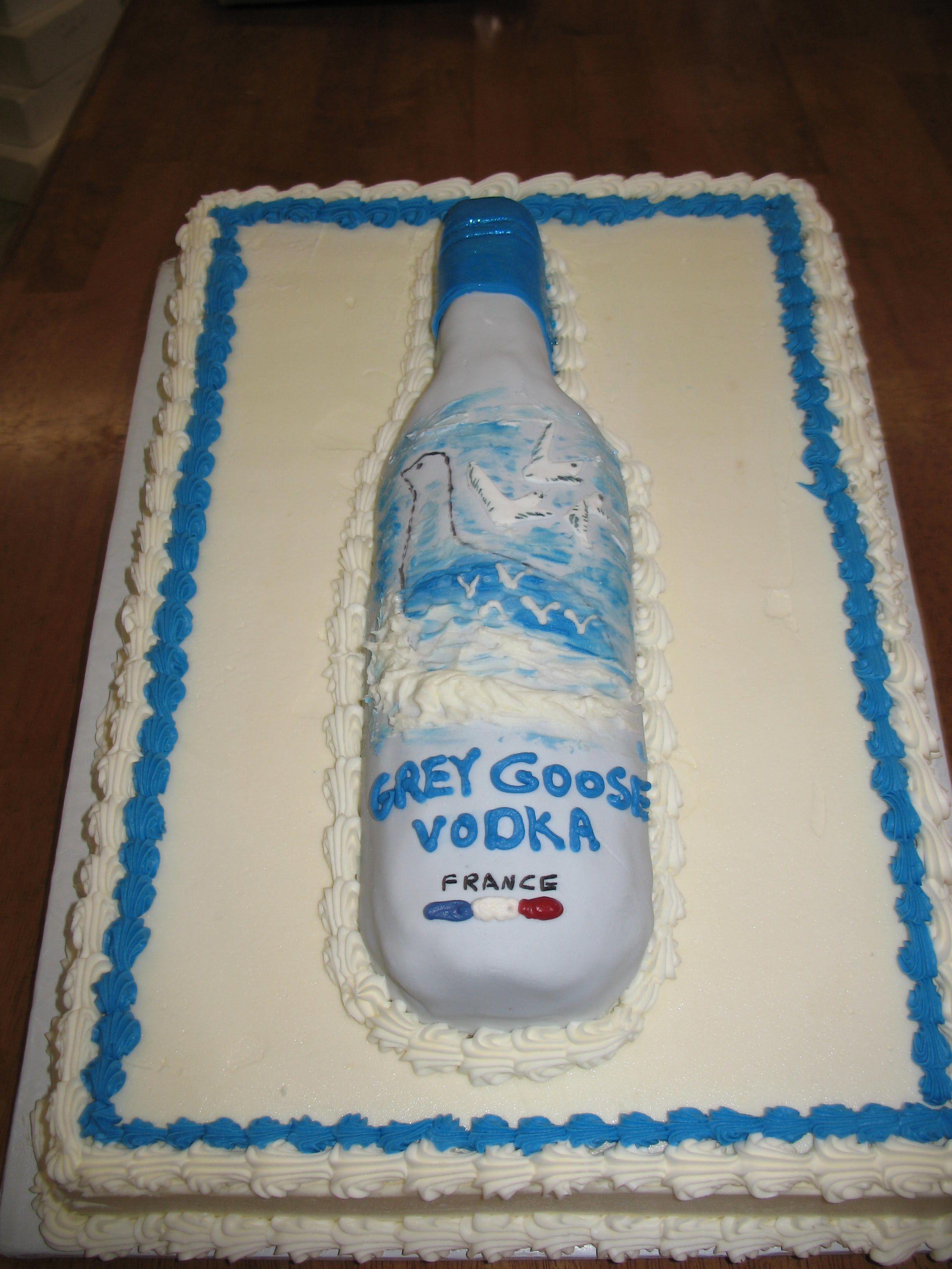 Grey Goose Grooms Cake Cheesecakeetcbiz Wedding Cakes Charlotte NC