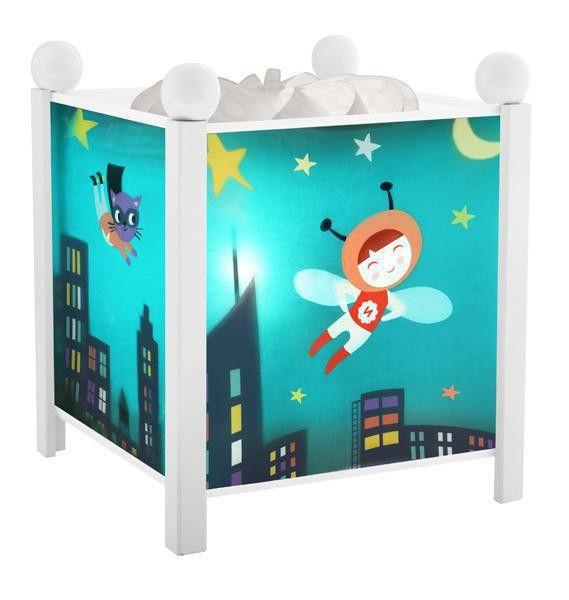 trousselier magische laterne nachtlicht superheld ninon. Black Bedroom Furniture Sets. Home Design Ideas