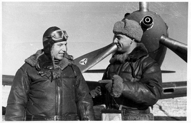 pokryshkin | Pokryshkin Alexander and his fighter Bell P-39 Airacobra (aircraft ...