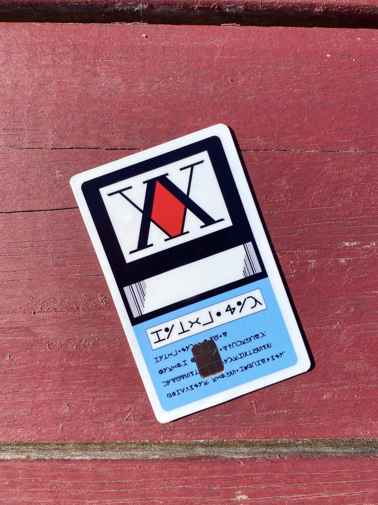 Hunter license cards hunter your cards