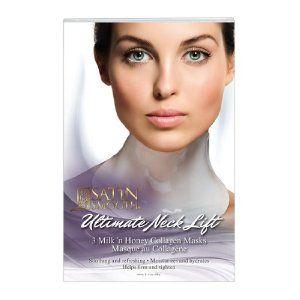 Satin Smooth MILK 'N HONEY Collagen Masks NECK LIFT  $9.95