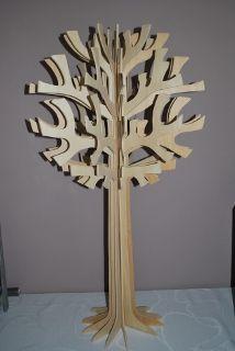 Presentatie houten boom doopsuiker cnc presentatie for Houten decoratie boom