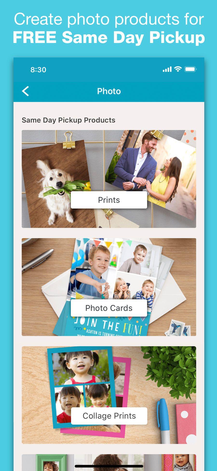 Walgreens iosappsappLifestyle Create photo, Print