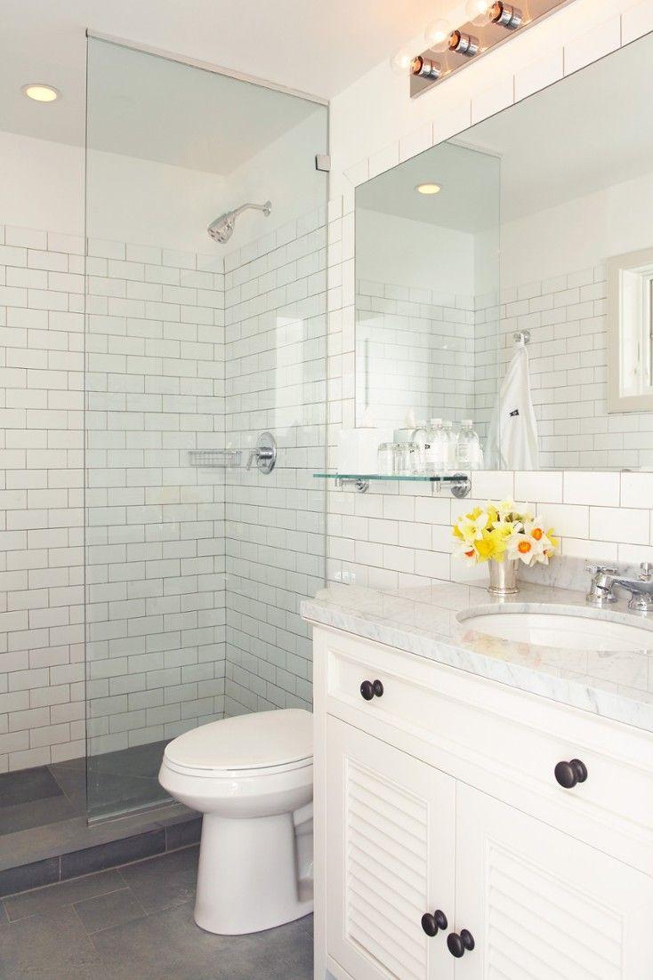 Find Aveda bath products, marble vanities and sleek doorless showers ...