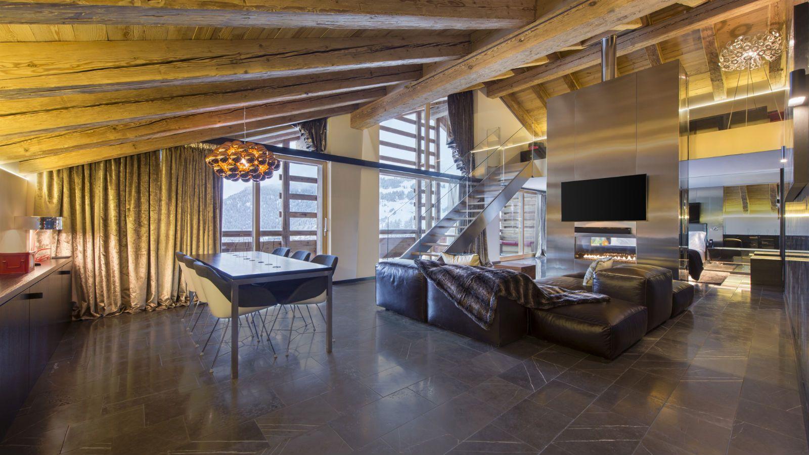 W Verbier Official Website Best Rates Guaranteed Luxury Hotel Hotel Verbier W living room verbier