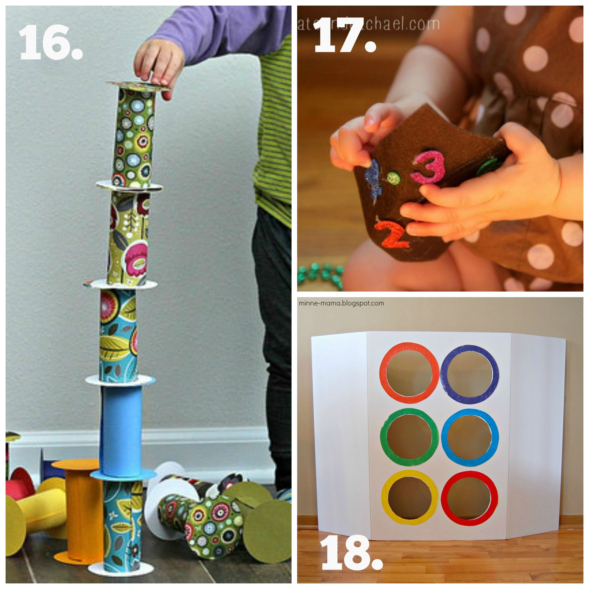 Recycled Play Series - Diy Baby  Toddler Toys  April -9009