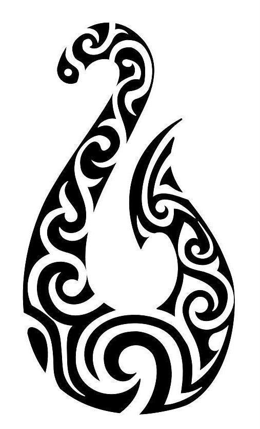 Tattoo ideas maori matau hei matau tattoo hello tattoos for Maori fish hook