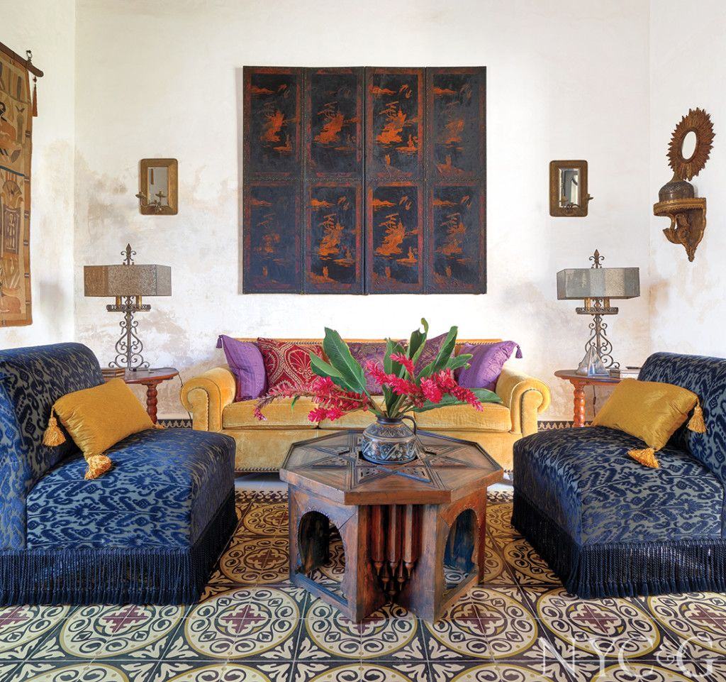 Tour An Eclectic Hacienda In Mexico Brimming With