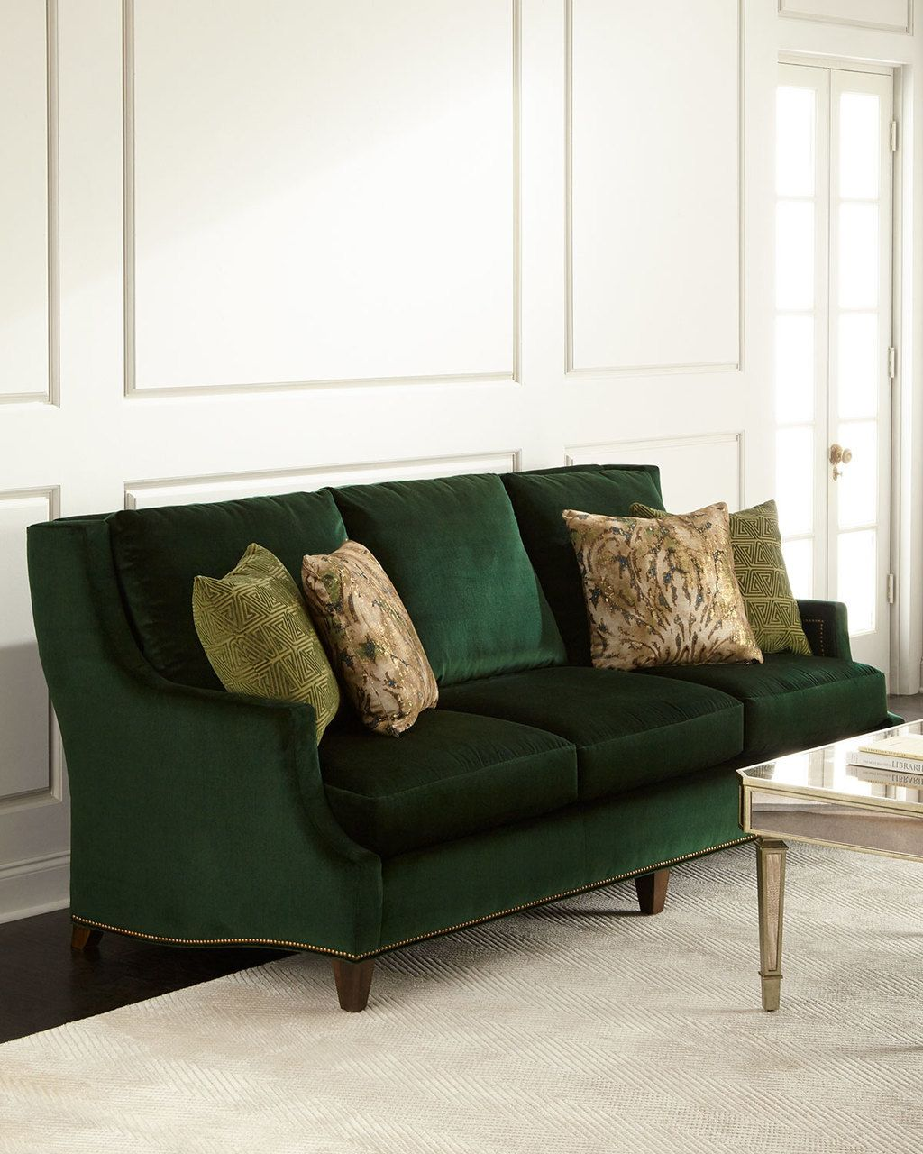 Moud Marlena Emerald Sofa 4450 Free Shipping Or Pick Up Compare Elsewhere 4800 Interexhome Com