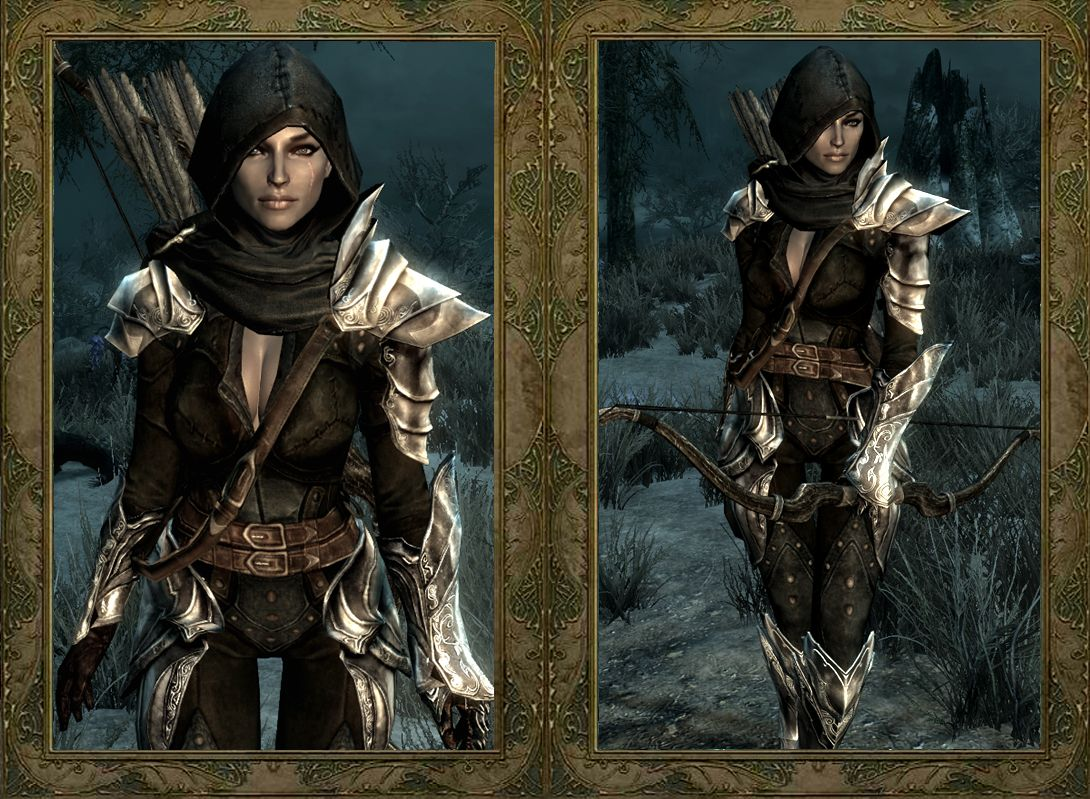 Dread Huntress Armor | Skyrim Mods | Skyrim costume, Skyrim, Skyrim mods
