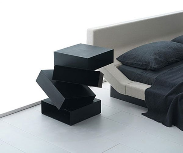 Design Nachttisch mesa de noche ideen nachttisch mit ungewöhnlichem design