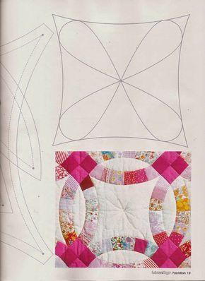 Revistas de manualidades Gratis Como hacer colcha en patchwork