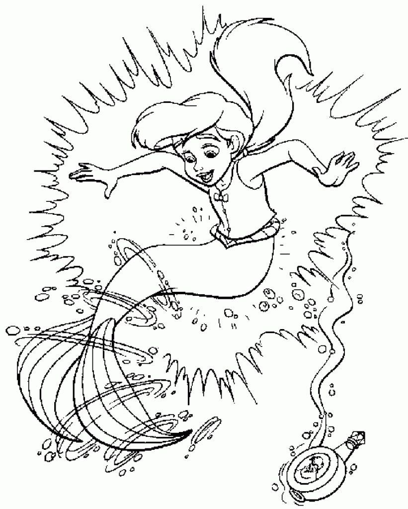 Little Mermaid Coloring Page Youngandtae Com Mermaid Coloring Pages Ariel Coloring Pages Cartoon Coloring Pages [ 1024 x 821 Pixel ]
