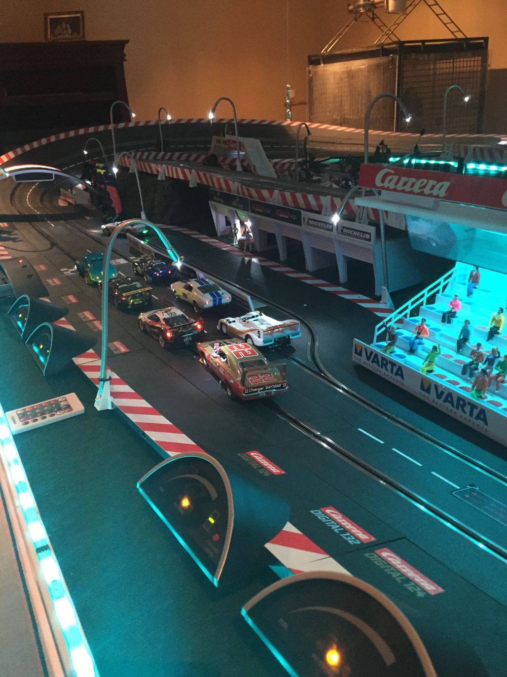 Carrera 1 32 Slot Cars Race Track