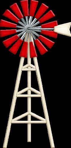 Windmill Down On The Farm Pinterest Windmill Clip