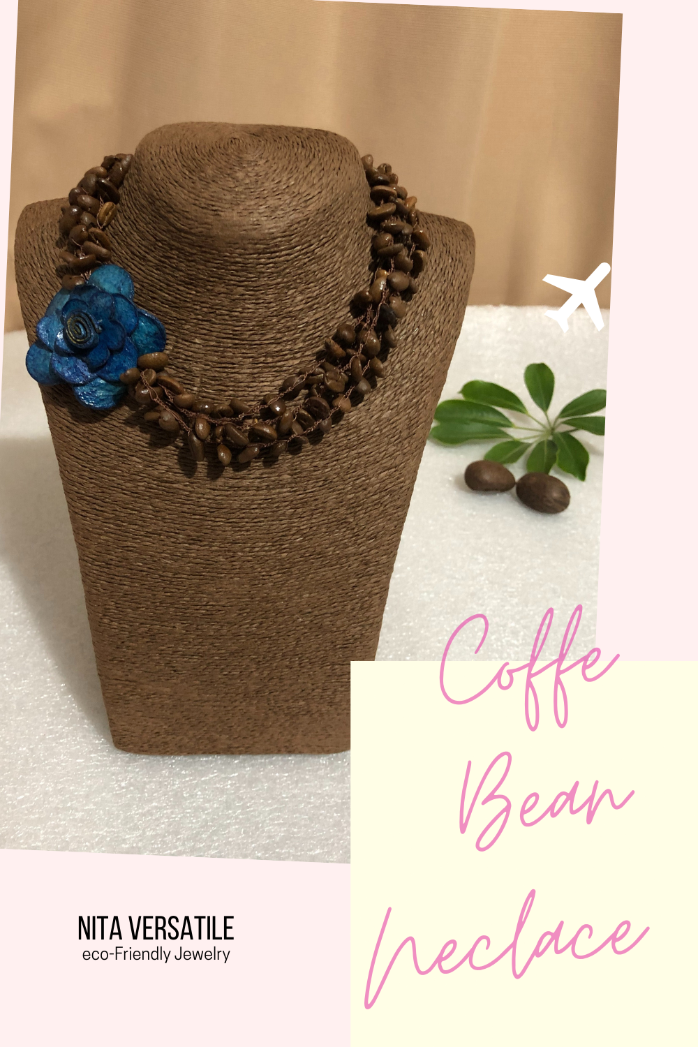 An Eco Friendly Aromatic Coffee Bean Necklace Check Out Our New Handcracted Collection Ecofri In 2020 Eco Friendly Jewelry Handmade Jewelry Handcrafted Necklace