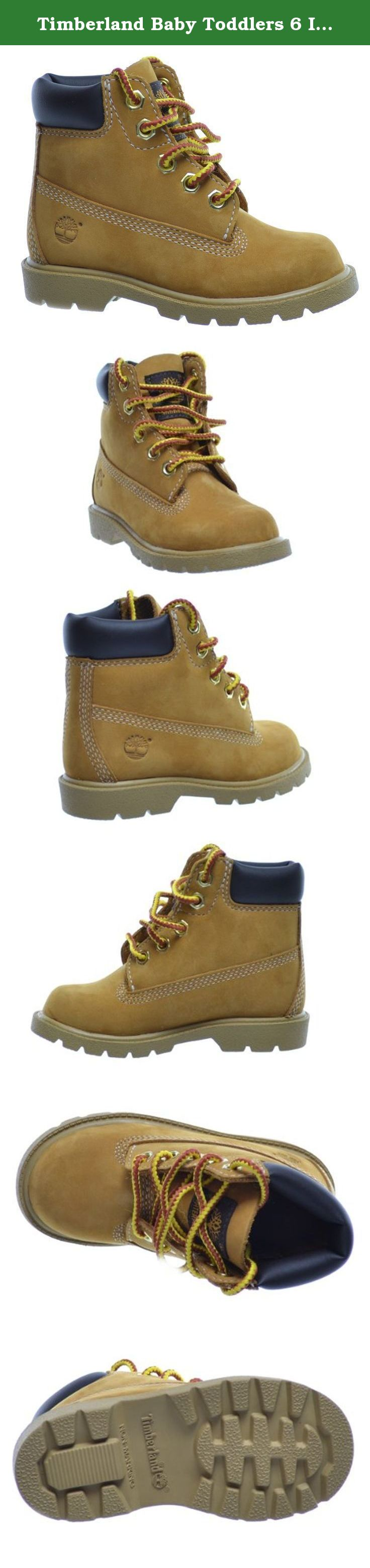 Baby Toddlers 6 Inch Boots Wheat 10860