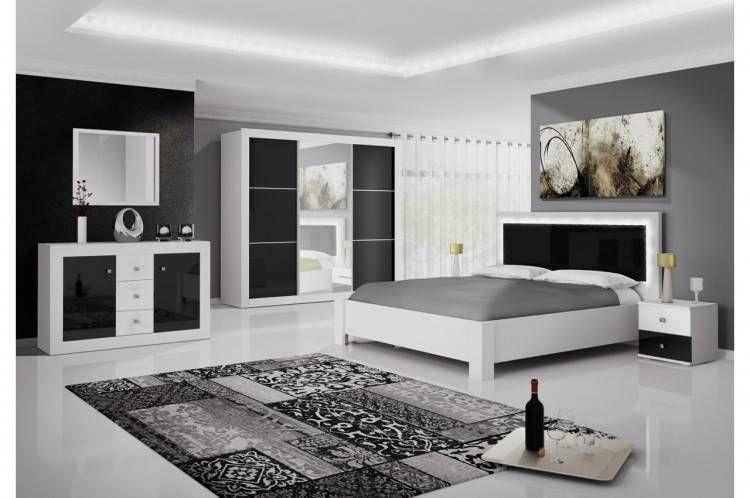 Chambre ŕ Coucher Moderne Blanche Avec Images Chambre A