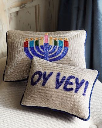 Hanukkah Pillows