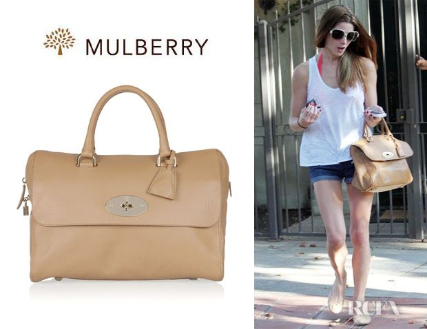 Ashley Greene s Mulberry Del Rey Leather Tote  567759b330762