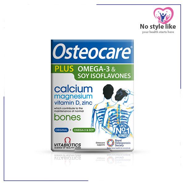 Osteocare Plus Omega 3 Magnesium Vitamin Omega 3 Isoflavones