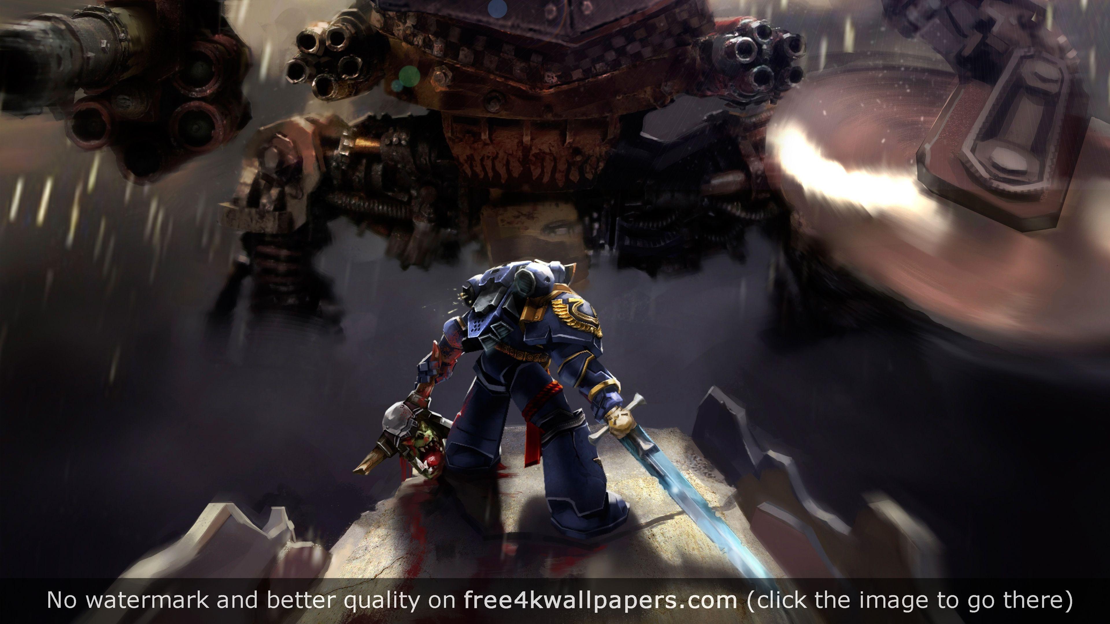 Warhammer Space Marine Ultramarines 4k Wallpaper Space Marine Cool Wallpaper Widescreen Wallpaper