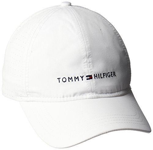 de907e31de4bce Tommy Hilfiger Men's Sport Dad Baseball Cap, Classic Whit... https:/