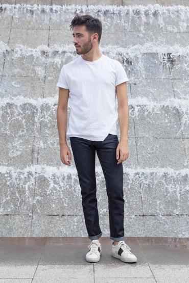 JEAN BRUT ALBERTO INDIGO | Mode décontractée pour homme