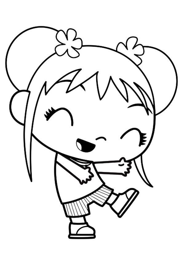 Ni Hao Kai-Lan coloring picture | 842x595