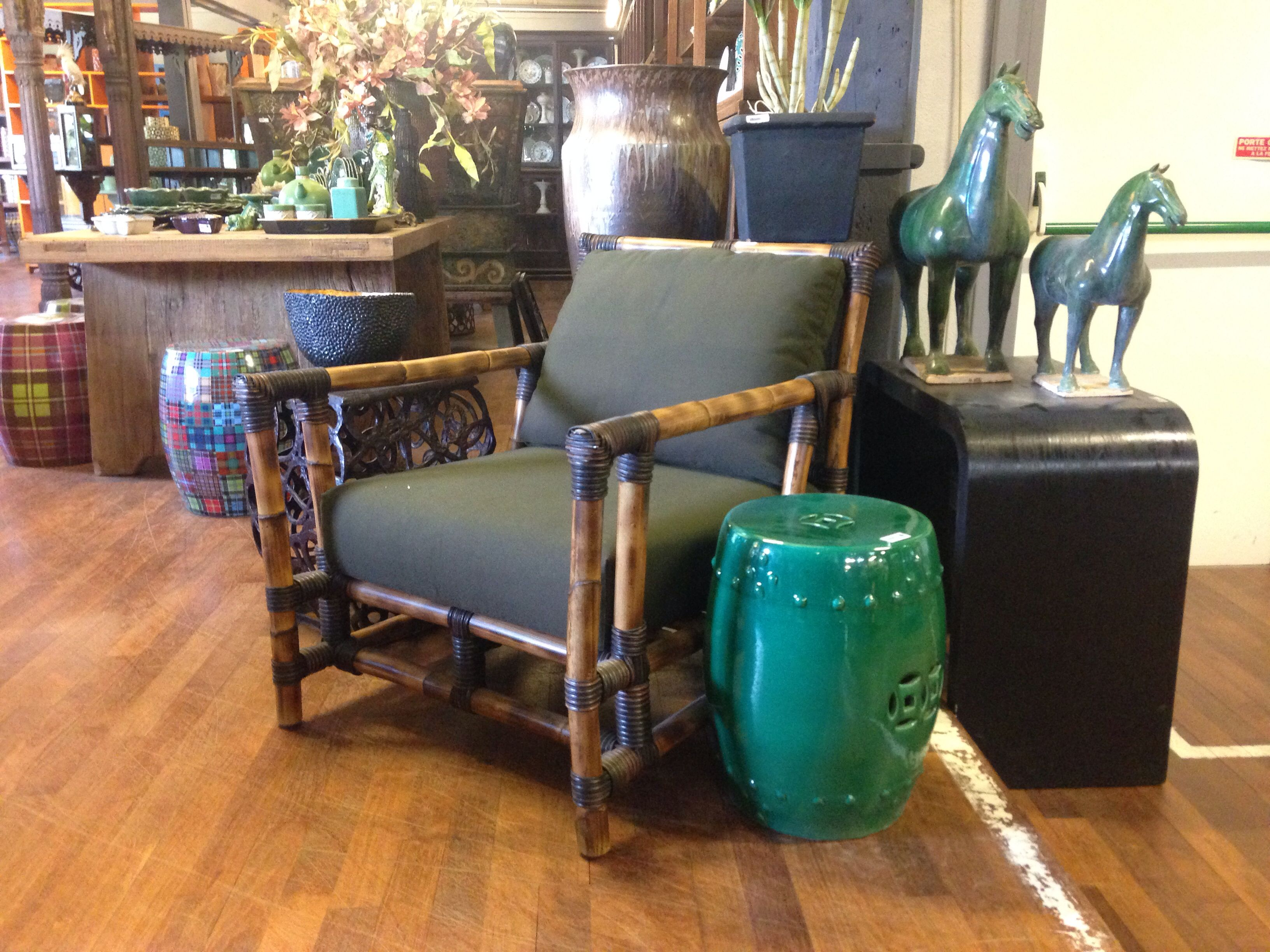 Eclectic Armchair From ASIATIDES