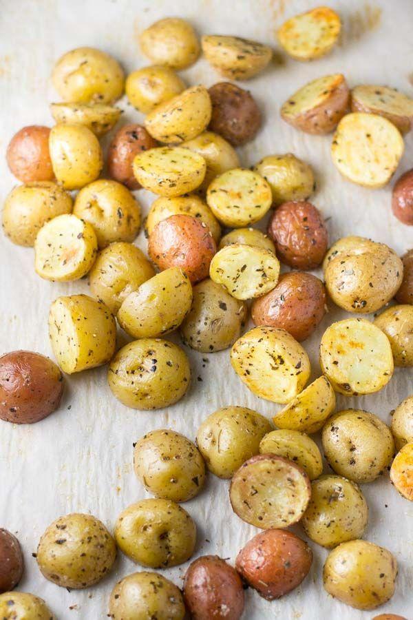 Photo of Roasted Potatoes with Italian Seasoning – Salu Salo Recipes