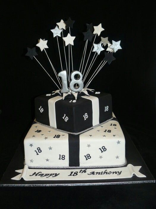 Pin By Watte Ballchen On Gateaux 18th Birthday Cake Boys 18th Birthday Cake 18th Birthday Cake For Guys