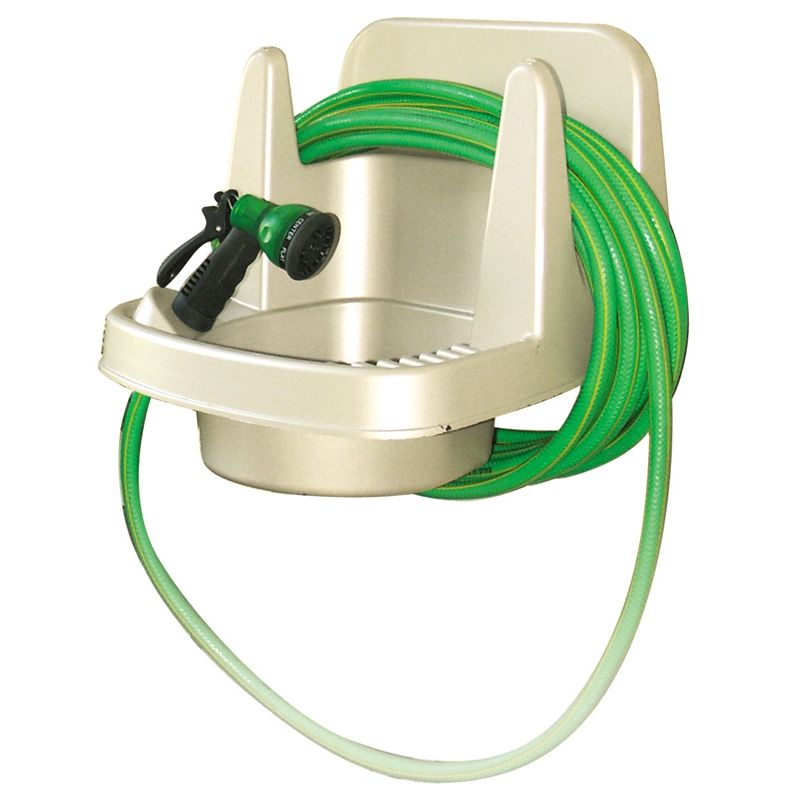 Maze Wall Mounted Outdoor Sink With Hose Hanger With Images