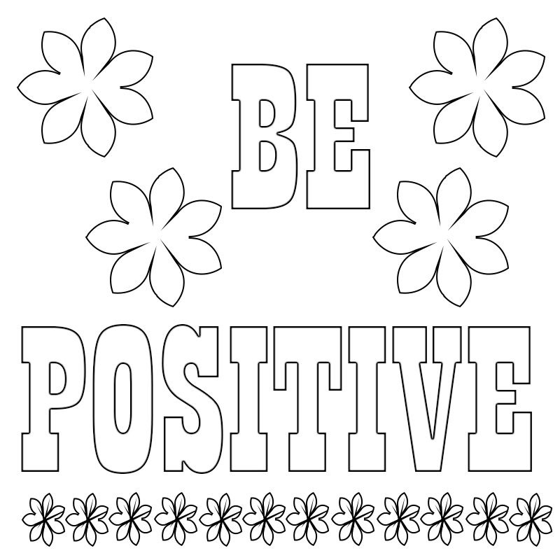 Motivational Colouring Pages Coloring Pages Quote Coloring Pages Love Coloring Pages