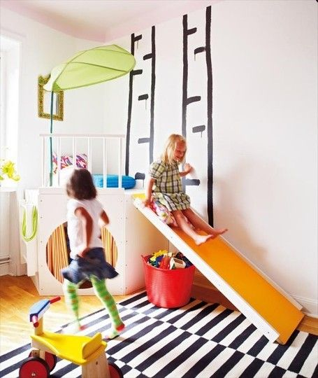Indoor slides for kids