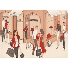 Illustrations by commercial Fashion and Beauty illustrator Wai represented by leading international agency Illustration Ltd. To view Wai's portfolio Please Visit http://www.illustrationweb.com/artists/Wai/view