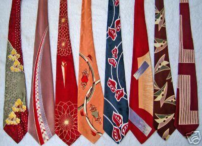 1950 vintage ties
