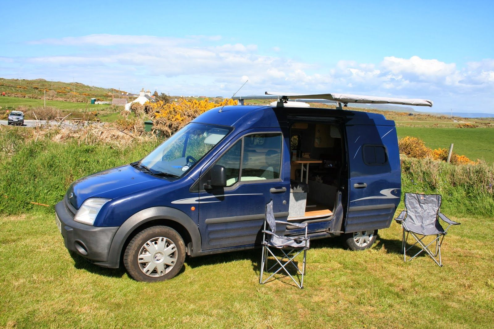 The Adventures Of Snooki The Ford Transit Connect Campervan