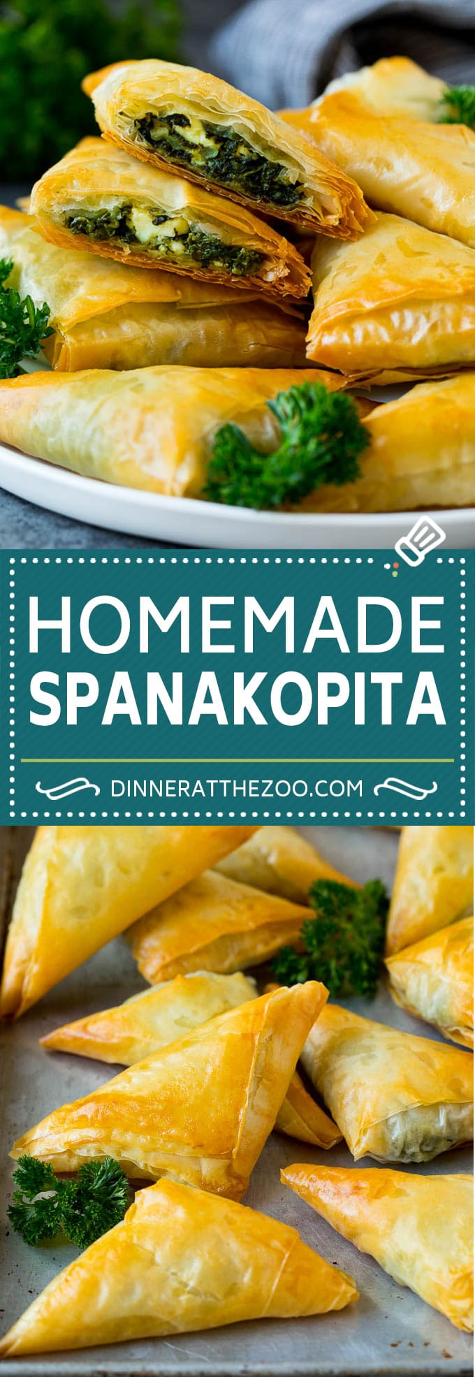 Photo of Spanakopita Recipe – Dinner at the Zoo
